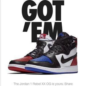 Nike Air Jordan 1 Rebel XX og womens size 7.5